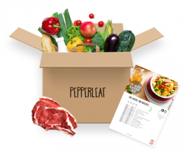 Pepper Leaf Meal Kit Classic Box