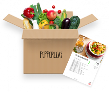 Pepper Leaf Meal Kit Vegetarian Box