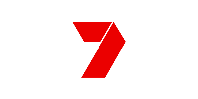Red logo of Channel 7
