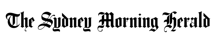 Black Logo of The Sydney Morning Herald