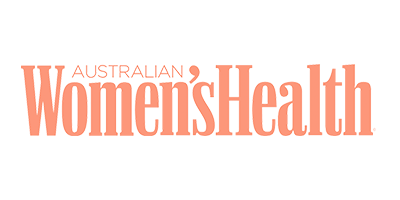 Orange logo of Australian Womens Health
