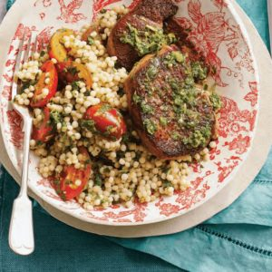 Lamb with Tomato and Pearl Couscous